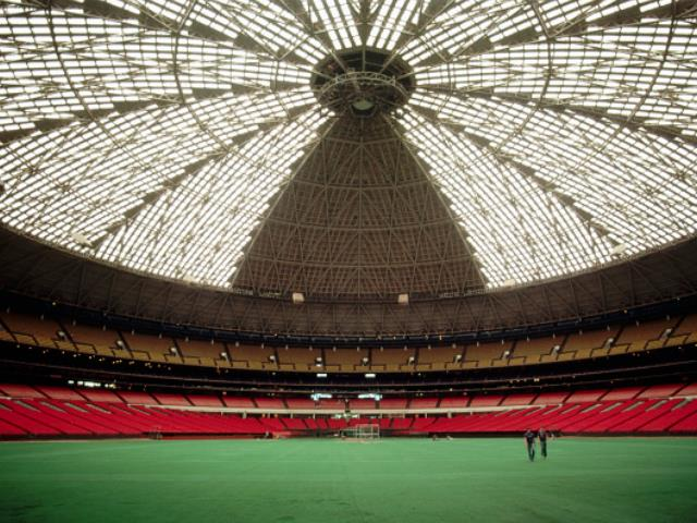 Inside the Astrodome. (File Photo: Henry Diltz/Corbis via Getty Images)