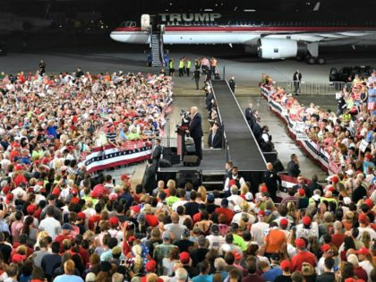 Airplane Hangar Trump Getty Jewel Samad
