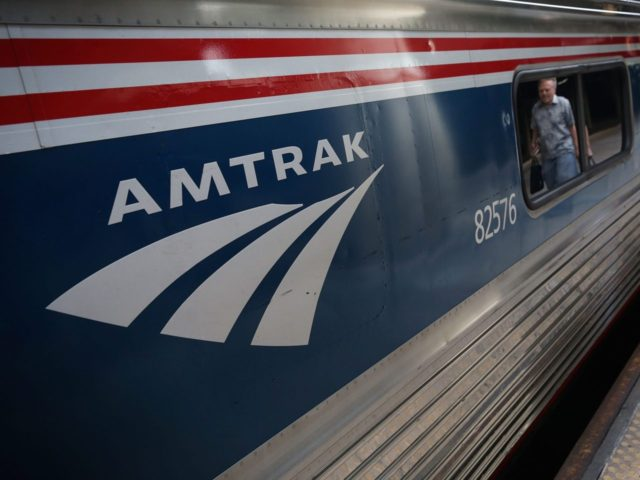 Amtrak (Alex Wong / Getty)