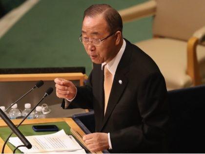 Ban Ki-Moon UN (John Moore / Getty)