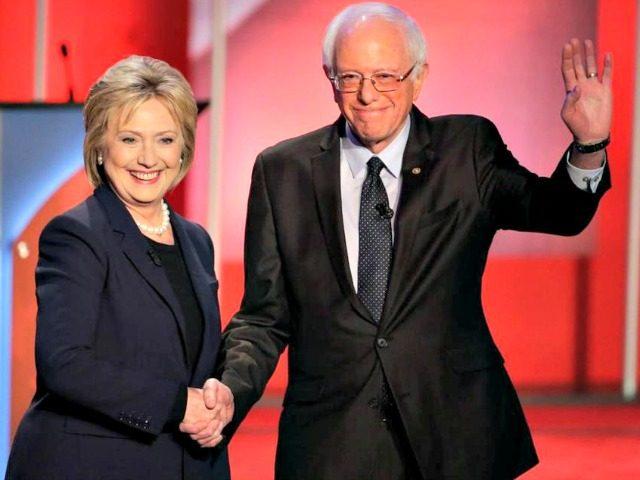 Bernie with Hillary AP