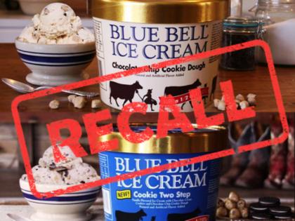 Blue Bell Recall Ice Cream Flavors