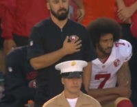 Colin Kaepernick National Anthem San Diego