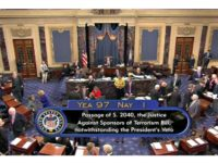 Historic Defeat: Overwhelming Bipartisan Bicameral Vote Overrides Obama's 9/11 Families Bill Veto