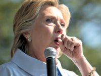 Coughing Hillary AP
