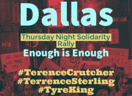 Dallas-Protest-banner