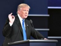 Law & Order at Debate: Trump Hammers, Hillary Stammers