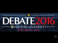 Watch: First Presidential Debate at Hofstra University