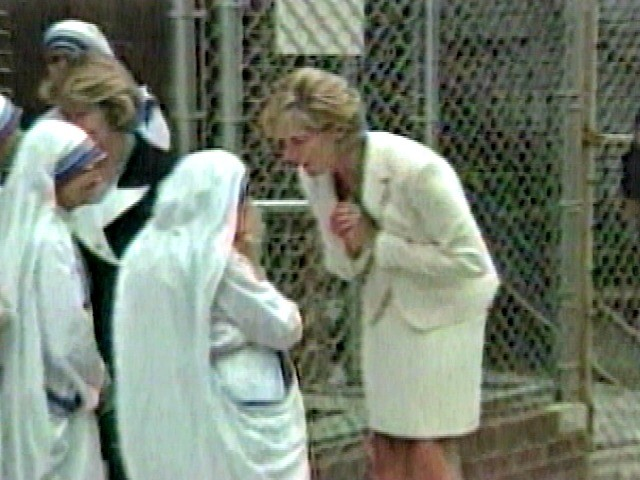 Diana and Mother Theresa