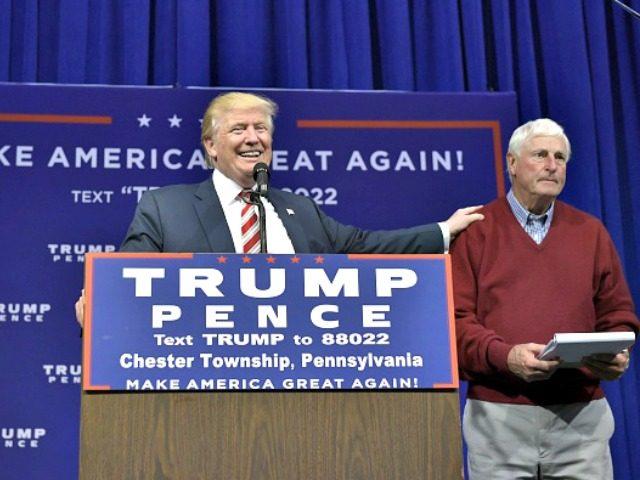 Donald Trump, Bobby Knight, PA AFP