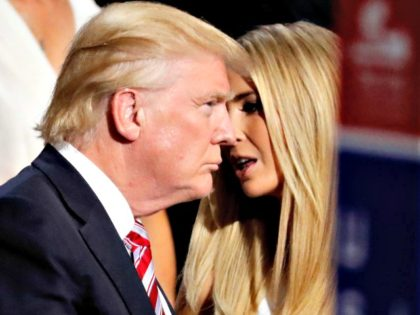 Donald and Ivanka Trump AP