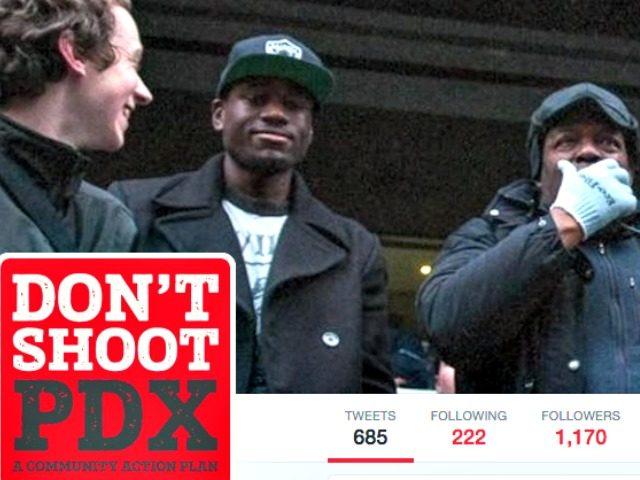 Don't Shoot PDX Twitter