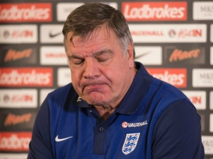 England football manager Sam Allardyce