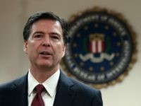 SAN FRANCISCO, CA - FEBRUARY 27: FBI director James Comey speaks during a news conference at the Phillip Burton Federal Building on February 27, 2014 in San Francisco, California. FBI director Comey met with members of the media and local law enforcement officials while in the San Francisco Bay Area …
