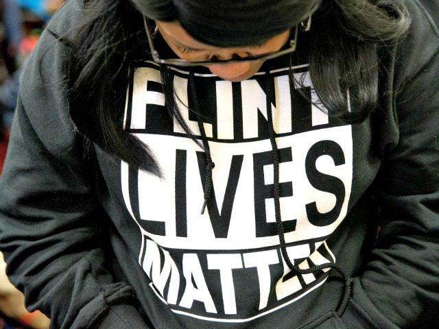 Flint Lives Matter sweatshirt AP