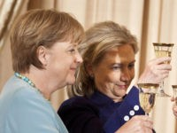 Clinton Names Mother of the Migrant Crisis Merkel As Favourite World Leader