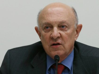 Former CIA Director James Woolsey speaks on Capitol Hill February 25, 2013 in Washington, DC.