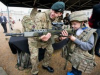 Territorial Army Recruitment Day Held In London