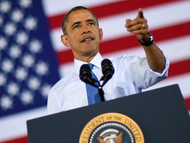 Barack Obama speaks on raising the national minimum wage at the University of Michigan on April 2, 2014 in Ann Arbor, MI.
