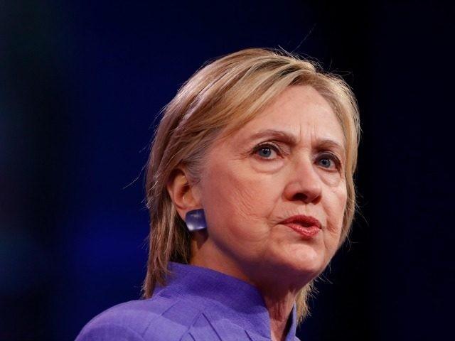 Democratic presidential nominee Hillary Clinton speaks at the American Legion Convention August 31, 2016 in Cincinnati, Ohio.