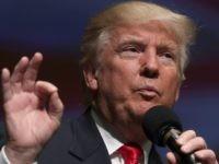 Republican presidential nominee Donald Trump speaks during a campaign event September 6, 2016 in Virginia Beach, Virginia.