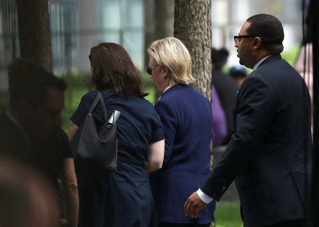 Video: Hillary Clinton Leaves 9/11 Memorial Ceremony Early, Dragged into Van