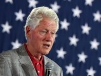 Former U.S. President Bill Clinton speaks at a campaign event for Democratic presidential nominee Hillary Clinton at a College of Southern Nevada campus on September 14, 2016 in North Las Vegas, Nevada. Hillary Clinton is expected to be back on the campaign trail tomorrow after taking time off to recover from pneumonia.