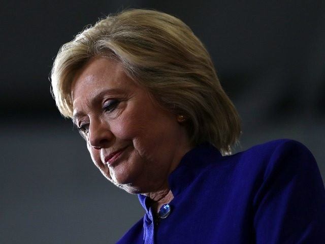 Democratic presidential nominee former Secretary of State Hillary Clinton speaks during a campaign event at Frontline Outreach and Youth Center on September 21, 2016 in Orlando, Florida. Hillary Clinton is campaigning in Florida. (Photo by