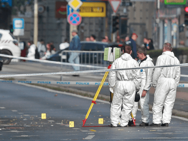 Hungarian police officers in stable condition after blast