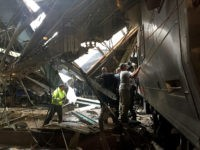 Serious Train Crash at Hoboken, New Jersey Terminal