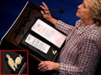Watch: Hillary Staves Off Cough With Lozenge