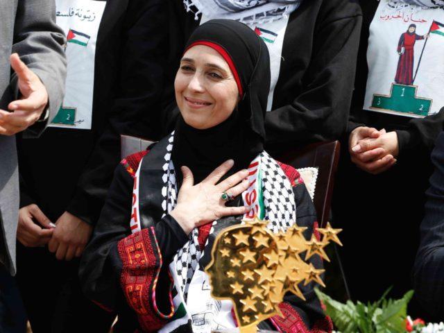 Hanan al-Hroub (Abbas Momani / AFP / Getty)