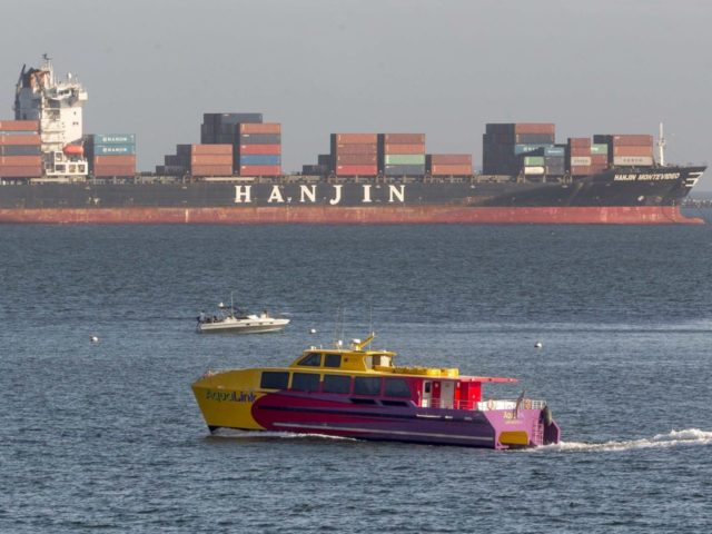 Hanjin (Damian Dovarganes / Associated Press)