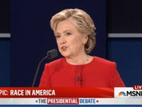 Hillary: 'Implicit Bias Is a Problem For Everyone,' 'Too Many of Us' 'Jump to Conclusions About Each Other'