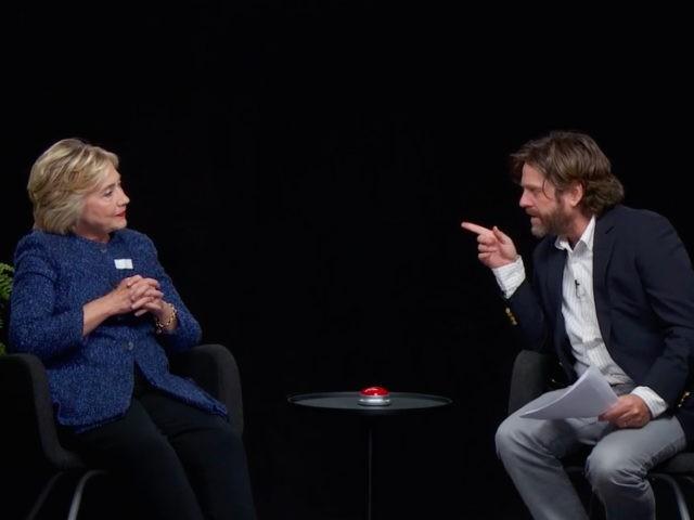 Hillary Clinton Between Two Ferns (Screenshot)