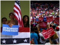 Hillary-Clinton-Supporters-Donald-Trump-Supporters-Getty