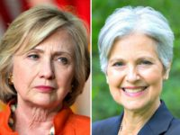 Hillary Clinton and Jill Stein Split