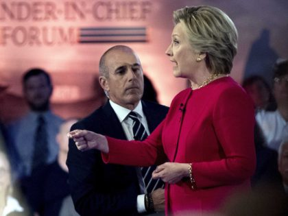 Hillary Clinton commander-in-chief forum (Andrew Harnik / Associated Press)
