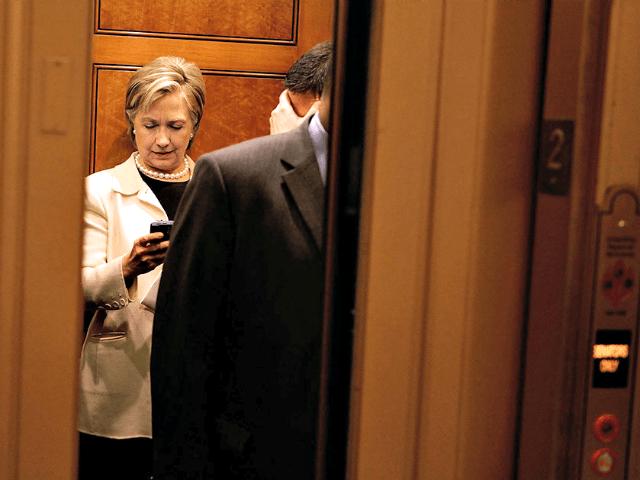 Hillary Elevator Blackberry Getty
