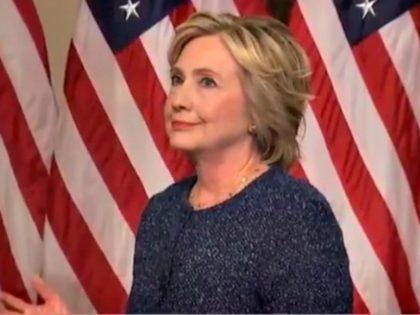 Hillary Rolls Eyes Twitter:@charliespiering
