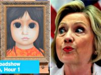 Hillary Watches Antiques Roadshow