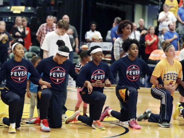 Indiana Fever national anthem (Darron Cummings / Associated Press)