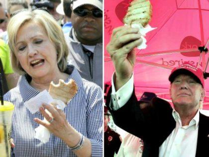 Iowa Pork Chop Candidates AP Photos