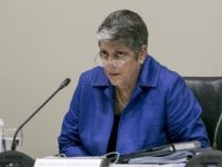 Janet Napolitano (Damien Dovarganes / Associated Press)