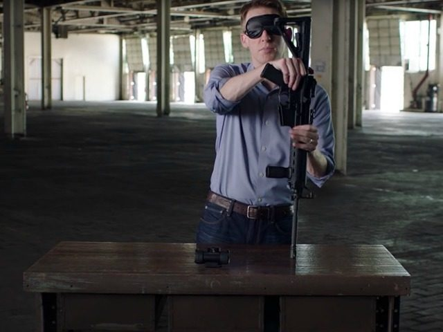 Jason Kander runs ad challenging Senator Blunt to assemble a rifle