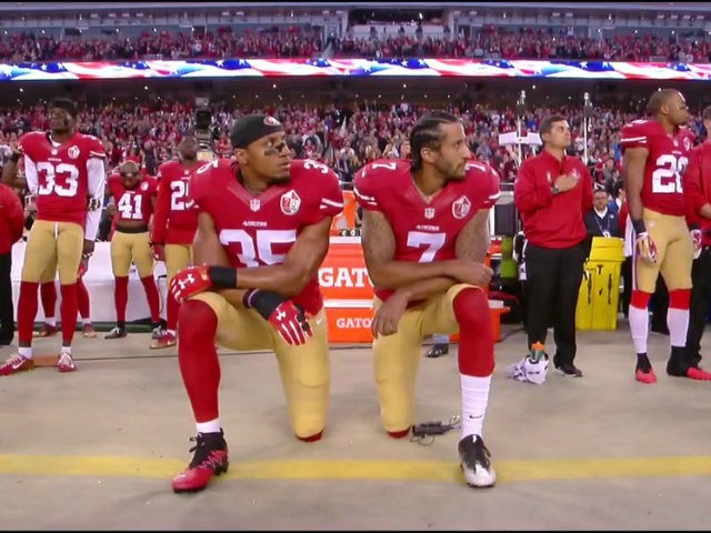 Kaepernick and Reid National Anthem