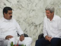 John Kerry Meets Venezuela's Nicolás Maduro: 'We Are Very, Very Concerned'