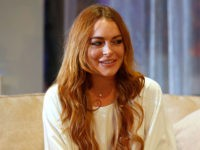 Lindsay Lohan Brings Gifts to Syrian Refugees in Turkey