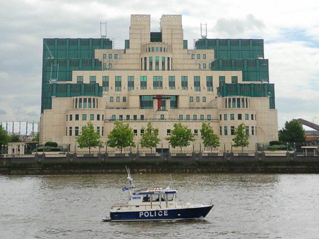 MI6 UK Police