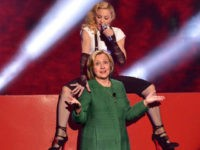 Madonna Gets Naked for Hillary Clinton